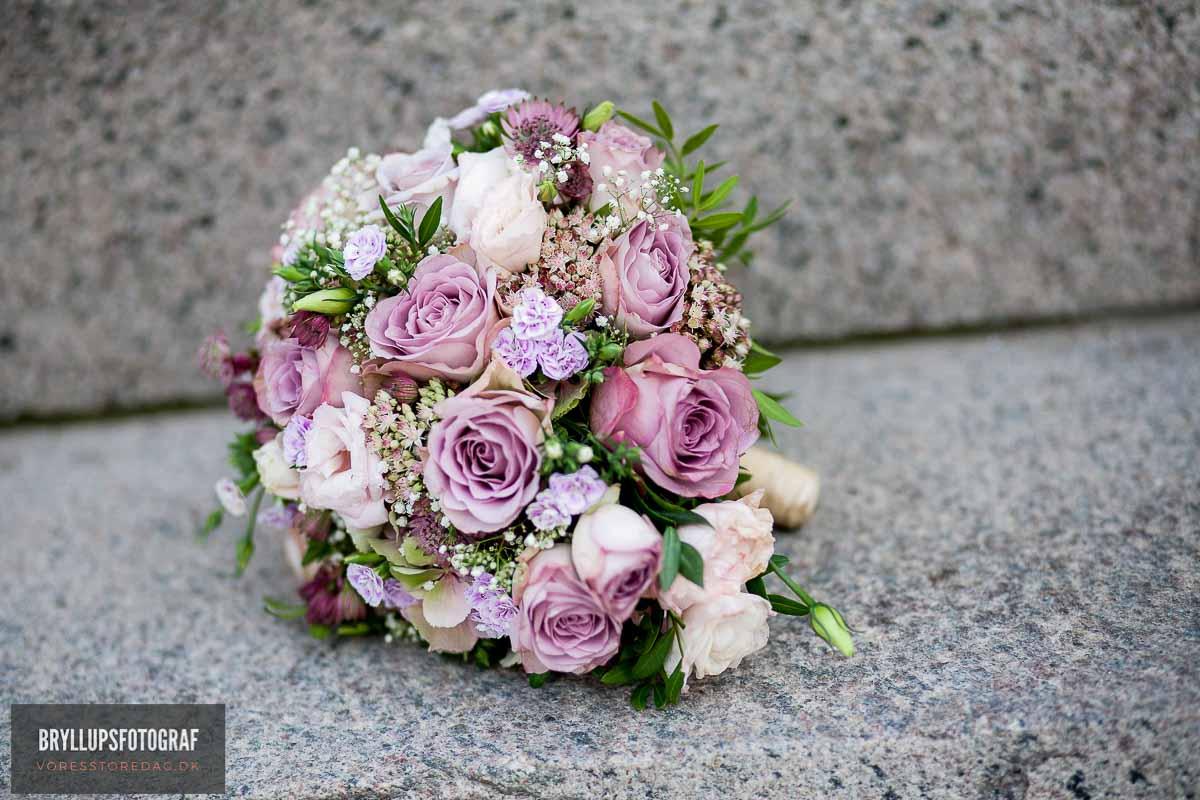 brudebuketten bryllup Herning