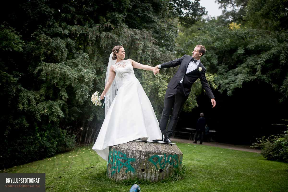 Verden er fuld af sjove, skøre og meget anderledes bryllupsfotos