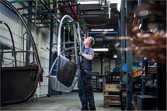 Fotograf til industrifotografering i Herning